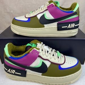 Nike Air Force 1 Shadow SE Cactus Flower Olive